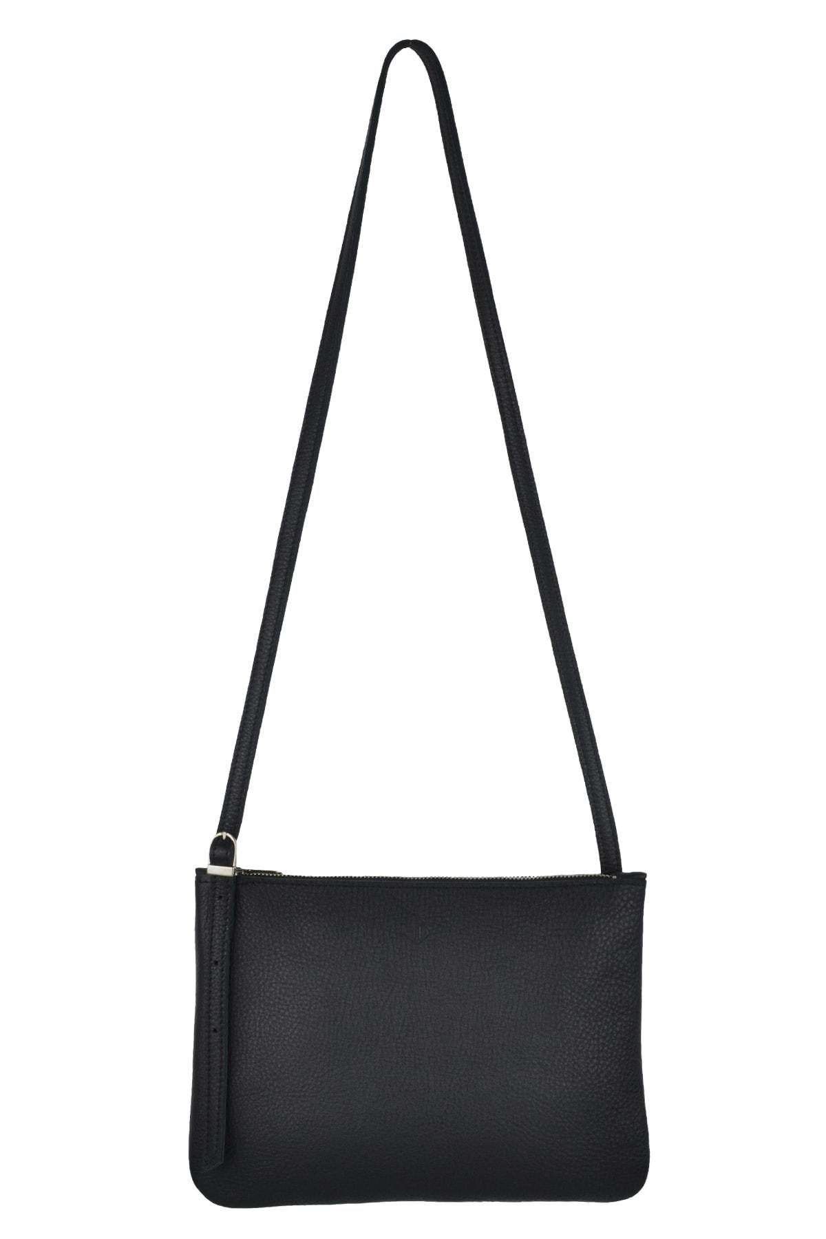 c195f896e Shoulder bag 'Evy' - Charcoal - Atelier Judith van den Berg