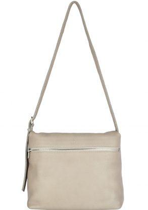 handmade leather shoulder bag viq moon front